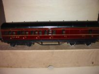 Exley LMS Brake/3rd Class Coach